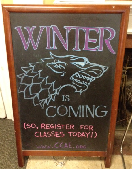Winter Term Registration is Underway!